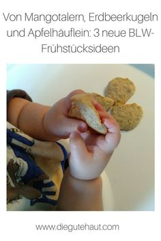selbstgemachte Babykekse Mango, Baby Led Weaning, Mexican, Ethnic Recipes, Health, Blog, Low Salt Recipes, Oat Cookies, No Sugar