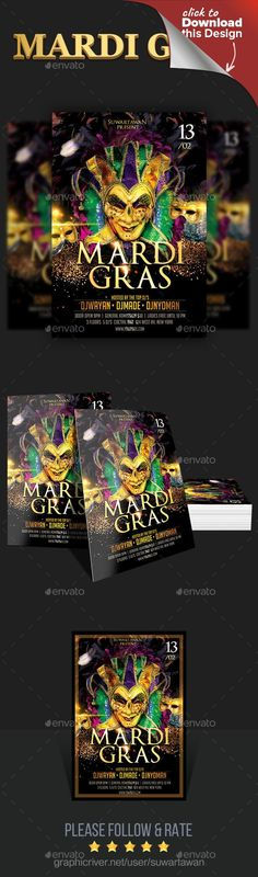 america, aurelio chambal, brasil, brasileiro, brazil, brazilian, Carnival 2018, carnival carnaval, colors, fest, festa, festival flyer, folheto, latin, mardi gras, mardigras, mask, masks, Masquerade Ball, new year, party, poster, psd, samba, summer, template Feature :    Easy customizable and editable   300 DPI CMYK Color profile   4×6 + 0.25 bleed area   100% Layered and Full Editable   1PSD file   Print Ready Format   Font Link included  Font Used Link  Optimus Princeps…