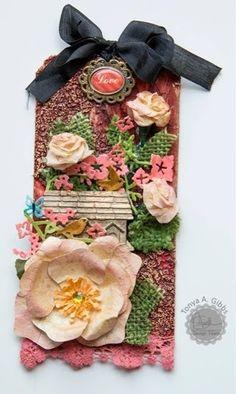 Handmade Flowers | Marion Smith Design Team Farewell�::�www.MarionSmithDesigns.blogspot.com