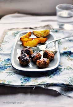 Meatballs with Roasted Pepper
