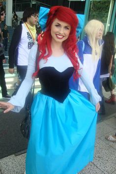 The Little Mermaid.  I'm absolutely in love!!!!! This will be me one year soooooon!!! Omg