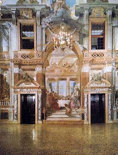 Палаццо Лабия, г. Венеция, Италия - полы терраццо 18 века