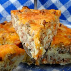 IMPOSSIBLE CHEESEBURGER PIE LOW CARB