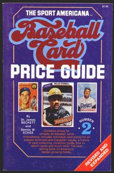 THE SPORT AMERICANA BASEBALL CARD PRICE GUIDE  2 by Dr. James Beckett and  Dennis 460171c8e
