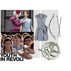 Katniss' Reaping outfit