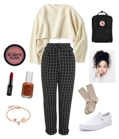 """Untitled #20"" by itsanaleis on Polyvore featuring Uniqlo, Topshop, Vans, Brooks Brothers, Fjällräven, Essie, Disney and NYX"