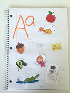 We love interactive notebooks in our house. These alphabet, numbers and shapes notebooks are super easy with little prep beforehand.