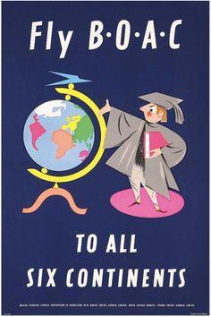 All Six Continents ~ BOAC