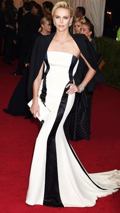 2014 Met Gala Red Carpet - Charlize Theron from #InStyle