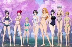 Bleach Heat the Soul 7 Girls