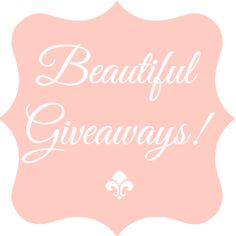 #GIVEAWAYS!  Hop on by and see what you can enter to win!!  http://www.styledecordeals.com/p/stylish-giveaways.html