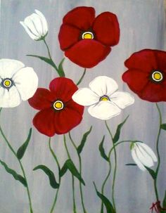 easy acrylic painting ideas for beginners on canvas Wine Painting, Easy Canvas Painting, Simple Acrylic Paintings, Autumn Painting, Fabric Painting, Canvas Art, Painting Flowers, Canvas Paintings, Painting Trees