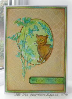 Addicted to Art: Wildflower birthday card