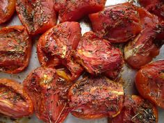 How to freeze tomatoes - How to turn watery tasteless tomatoes into a feast!