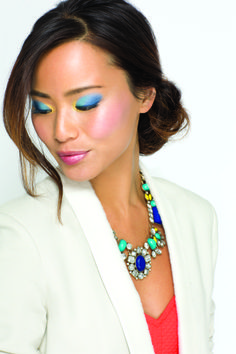 mark Magalog star Jamie Chung rocking #Spring's hottest #beauty trend: bold eyes! http://sgruman.avonrepresentative.com/