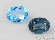 Most natural topaz is colorless. However, the most popular topaz in jewelry is blue. Almost all of this blue topaz is colorless rough that was irradiated and heated to blue. Cowgirl Bling, Minerals And Gemstones, Turquoise Rings, London Blue Topaz, Blue Topaz Ring, Native American Jewelry, Indian Jewelry, Earring Set, Gemstone Jewelry