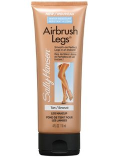 Sally Hansen Airbrush Legs Leg Makeup Review: Makeup: allure.com 0 I tried this today. It's amazing!