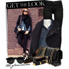 the glamourai, created by cutandpaste on Polyvore