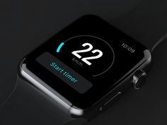GPS Speed for Apple Watch by Alterplay—The Best iPhone Mockups → store.ramotion.com