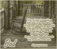 Miss u dad xx