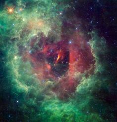 A new study by a team of Brazilian astronomers details the discovery of some 300+ star clusters using the WISE space telescope (image credit: NASA/JPL-Caltech/UCLA)....