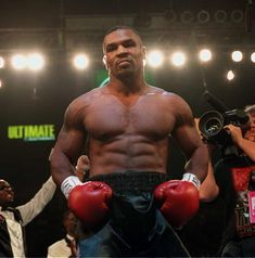 When the heavyweight division in boxing was at its best! Mike Tyson!!!