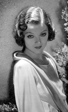 Myrna Loy...Beautiful yes, but also very intelligent. I had read where Loy stopped acting during the War so she could devote her time & efforts to the War-efforts. Will research & get back to you.