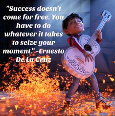 Get a huge list of the best Coco Quotes from Disney's popular movie. Here is a great list of the best lines and dialogue from the best parts of the movie. Pixar Quotes, Cartoon Quotes, Lorax Quotes, Quotes Kids, Study Quotes, Cartoon Art, Disney Pixar Movies, Disney Movie Quotes, Disney Senior Quotes