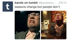 But I don't recall Patrick getting his hand chopped off in 'This Ain't a Scene'