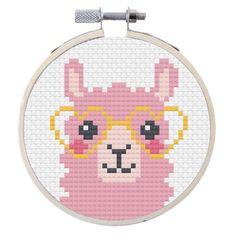 image 1 Kawaii Cross Stitch, Mini Cross Stitch, Cross Stitch Bookmarks, Simple Cross Stitch, Cross Stitch Animals, Modern Cross Stitch, Cross Stitch Kits, Easy Cross Stitch Patterns, Cross Stitch Designs