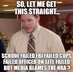 Also blames the gun. And laws were broken but we need more laws..........mindless puppets following, supporting and pushing THE evil elite agenda........and what are our taxes paying for if not protection and support of the constitution?