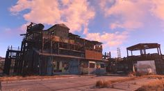 Build wooden foundation on Santuary houses Fallout 4 Guide, Fallout 4 Settlement Ideas, Fallout Rpg, Fall Out 4, Post Apocalypse, Samurai, Video Games, Mansions, House Styles