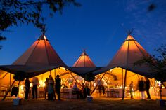 Tipi-Wedding formation