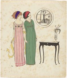 1908 - Les Robes de Paul Poiret racontée par Paul Iribe