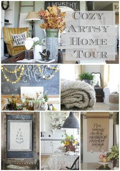 Finding Fall Home Tour With Better Homes And Gardens | A cozy and artsy home tour.