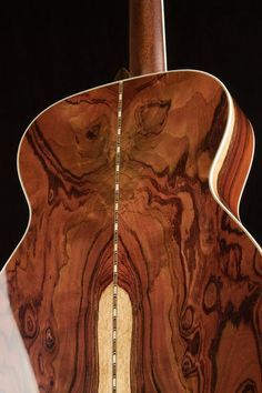 Bourgeois Guitars What image do you see in the back of this Guatemalan Rosewood OM?