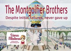 Science Milestones: The Montgolfier Brothers @EvaVarga.net