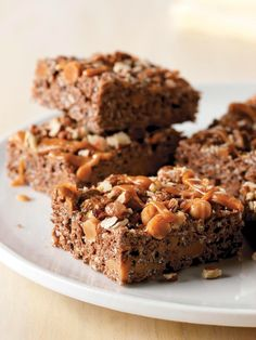 Turtle RICE KRISPIES® TREATS™ -- Ready in just 15 minutes, this delicious dessert recipe is sure to become a favorite in your family.