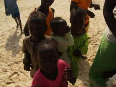 niños senegaleses