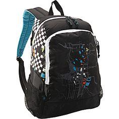 Eastsport Double Compartment Backpack - Checkerboard Graffiti - via eBags.com!