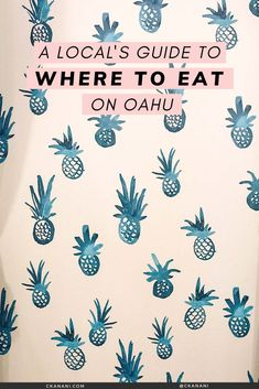 A local's guide to the best places to eat on Oahu, Hawaii. The best malasadas, shave ice, views, and more. Oahu Hawaii / Oahu Hawaii things to do in / Oahu Hawaii secrets / Oahu food guide / Oahu food restaurants / Honolulu Hawaii / Honolulu Hawaii things to do in / North Shore Oahu / Hawaii food guide / Oahu eats / best places to eat in Oahu / where to eat in Oahu / Waikiki Hawaii / #oahu #hawaii #foodguide #honolulu #waikiki Honolulu Restaurants, Hawaii Activities, Hawaii Things To Do, North Shore Oahu, Hawaii Outfits, Honolulu Hawaii, Best Places To Eat, Hawaii Travel