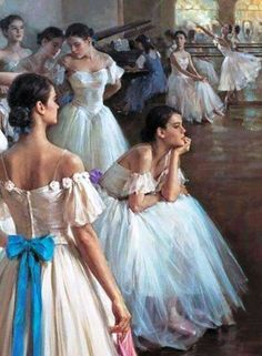 Ballet oil painting,oil paintings from photos Ballerina Painting, Ballerina Art, Ballet Art, Ballet Girls, Ballet Dancers, Ballerinas, Dance Paintings, Oil Paintings, Painting Art