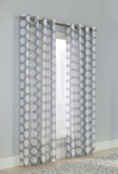 Savarese Grommet Single Curtain Panel