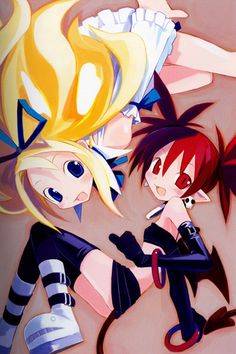 Disgaea: Hour of Darkness: Etna & Flonne