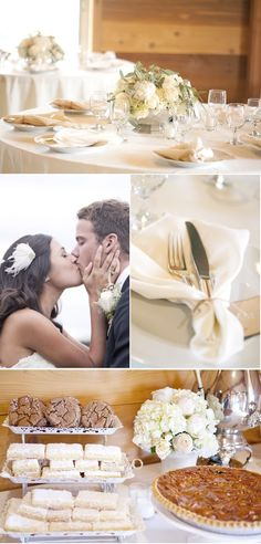 #wedding #details #table #decor