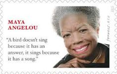 The sentence held great meaning for her and she is publicly identified with its popularity, USPS explains why words first written by Joan Walsh Anglund are on the late author's stamp Because Song, Joan Walsh, Which Is Correct, Going Postal, Author Quotes, Maya Angelou, American History, Famous People, Quotations