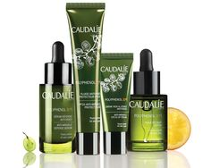 """SPOT IT: THE CAUDALIE POLYPHENOL C15 COLLECTION We run the numbers on the brand's formidable new skincare line. """"We were the first to discover and offer women the full benefits of stabilized grape-seed polyphenols back in 1995,"""" reminisces Mathilde Thomas, who started Caudalie with her college sweetheart after working together at a Bordeaux winery. Almost 20 years later, stabilized grape-seed polyphenols are still exclusive to Caudalie—as is the brand's distinction as the first and foremost…"""