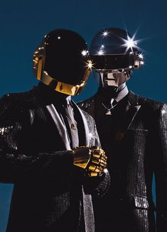 Guy-Manuel de Homem-Christo and Thomas Bangalter (Daft Punk) Thomas Bangalter, Punk Art, Pulp Fiction, Pink Floyd, New Music, Good Music, Punk Guys, The Wicked The Divine, Indie
