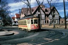 1950s Trolley Shonard and Park Ave., Yonkers, NY