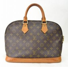 Louis Vuitton Hand Alma Monogram Pvc Brown Tote Bag. Get one of the hottest styles of the season! The Louis Vuitton Hand Alma Monogram Pvc Brown Tote Bag is a top 10 member favorite on Tradesy. Save on yours before they're sold out!